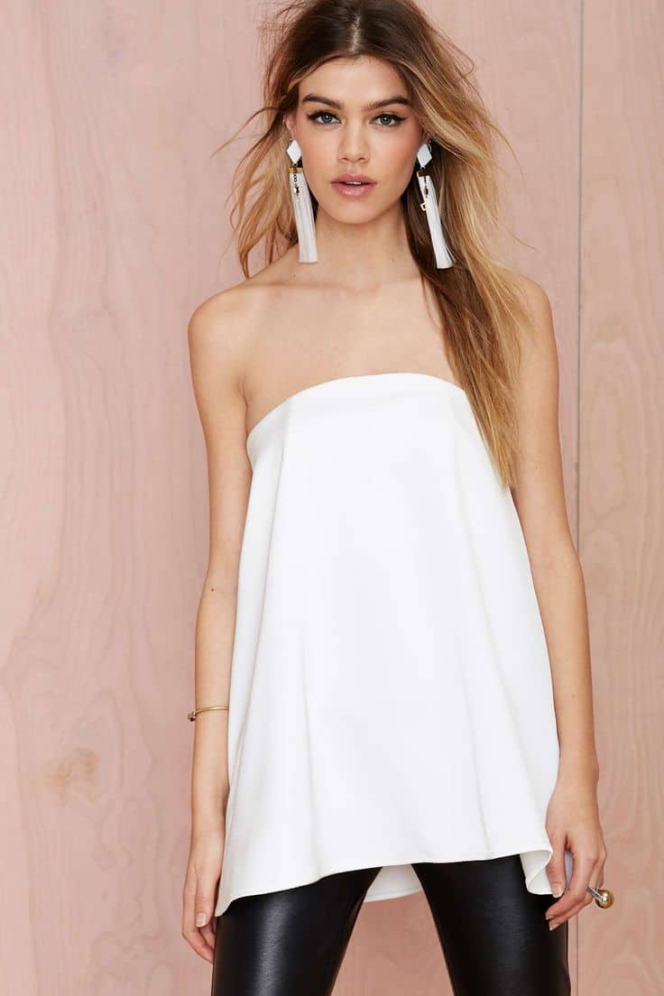 STRAPLESS Looks: THIS Spring's IT Style?! – The Fashion ...