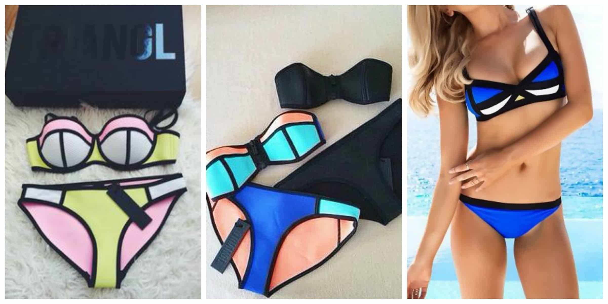 Неоновый цвет снова в моде: неоновые купальники как главный тренд лета 2015