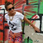 'Life Is Art In Motion': In Redbubble Leggings & Tee