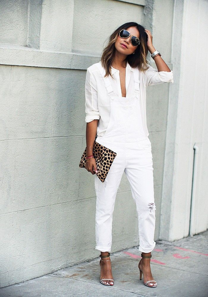 Street Style All White Outfits 5 The Fashion Tag Blog