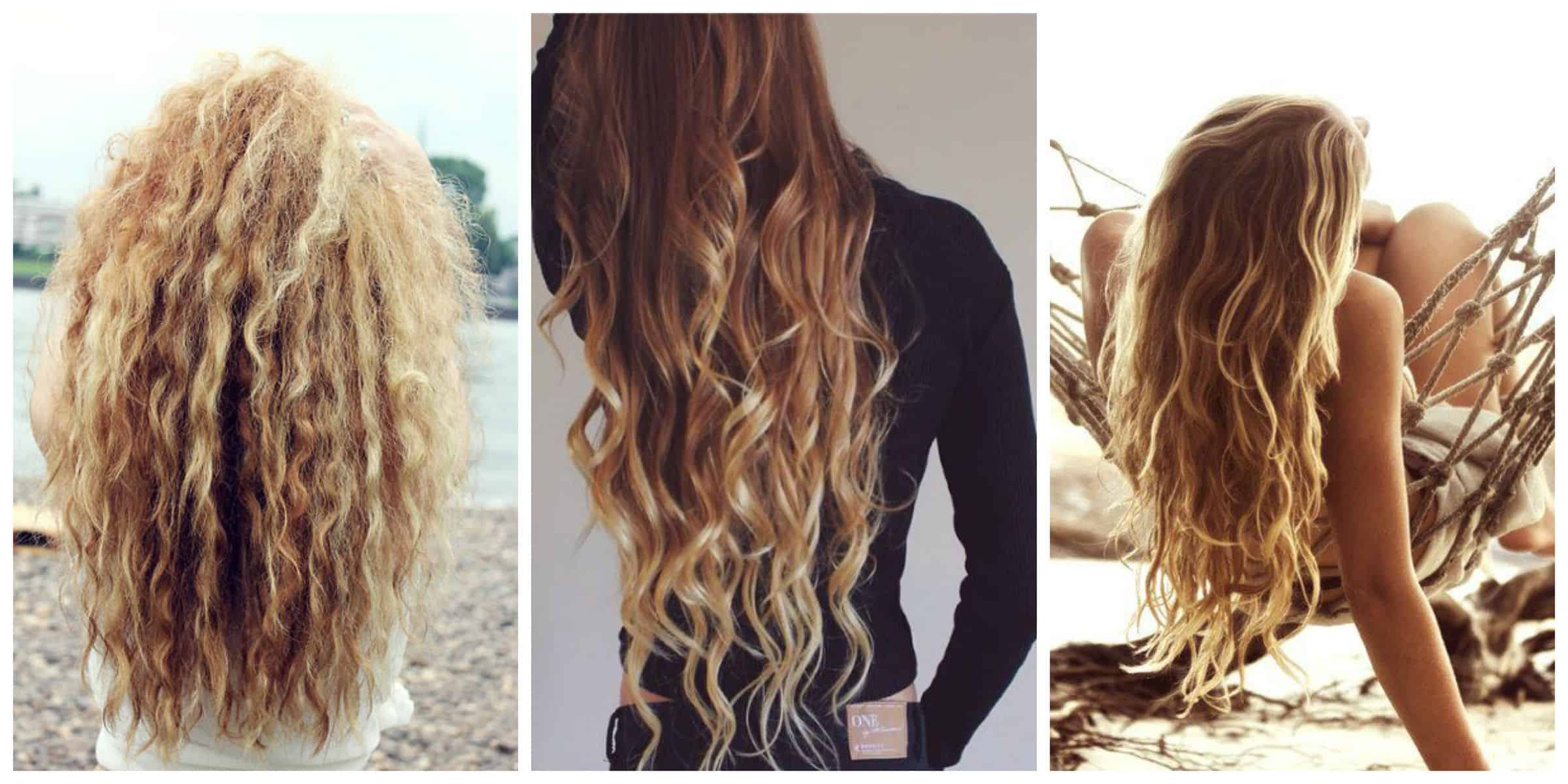 Easy Beach Waves Hair How I Style My