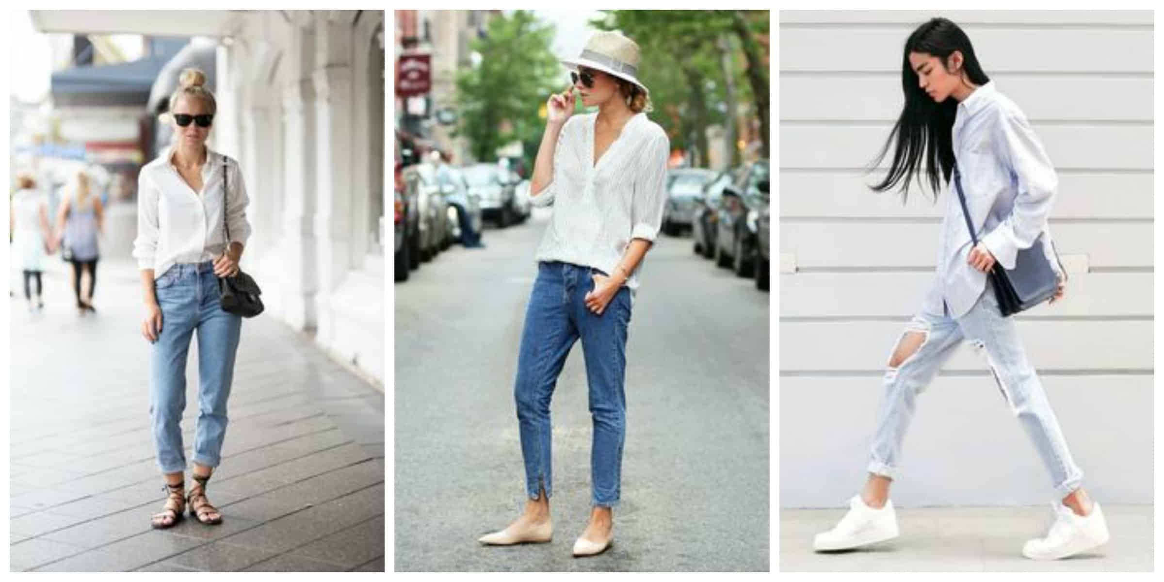 White Shirt & Blue Jeans ::: The Fashion Tag Blog