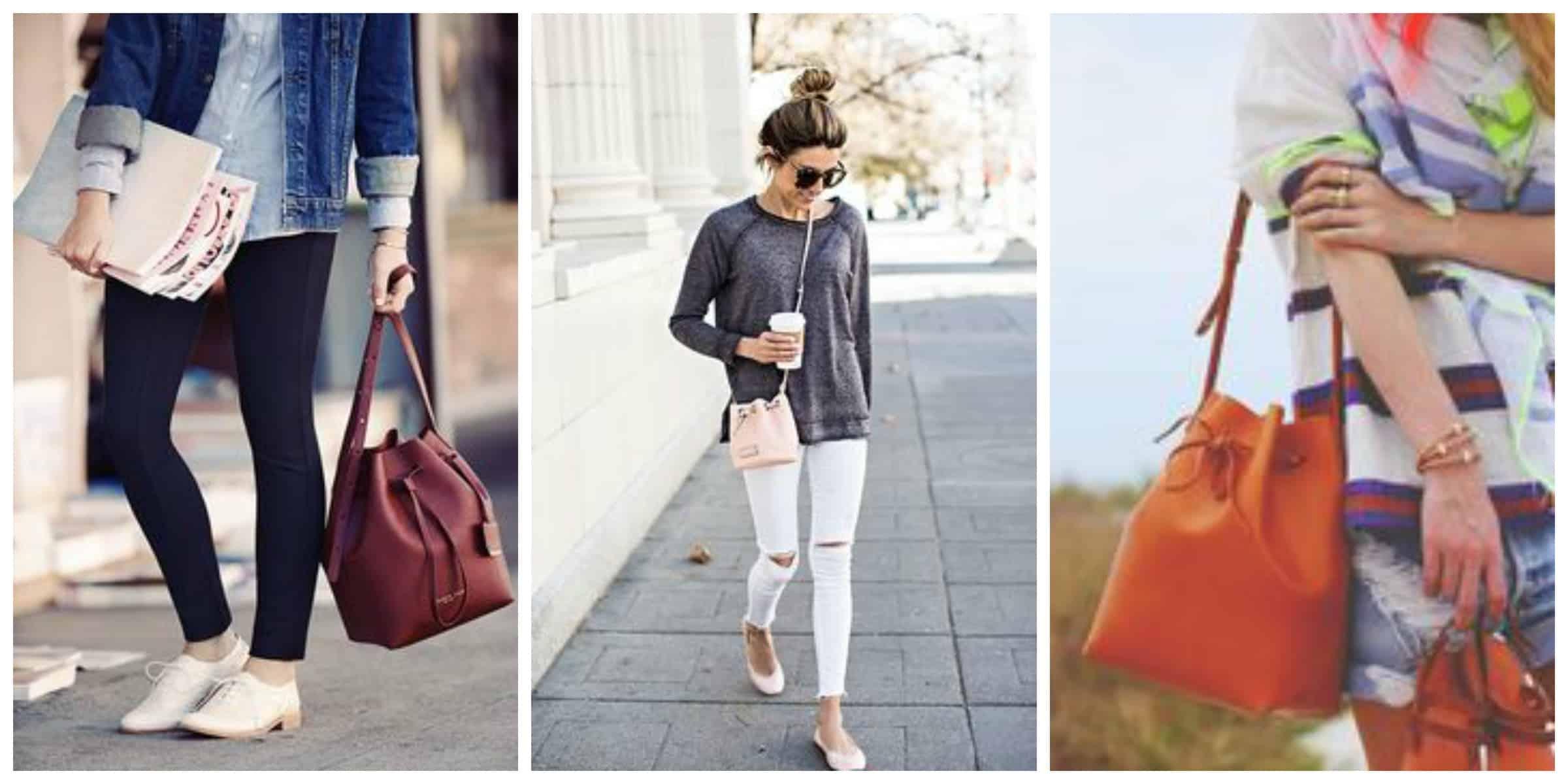 Актуальный тренд сезона лето-осень 2015: ультра-модная сумка-мешок