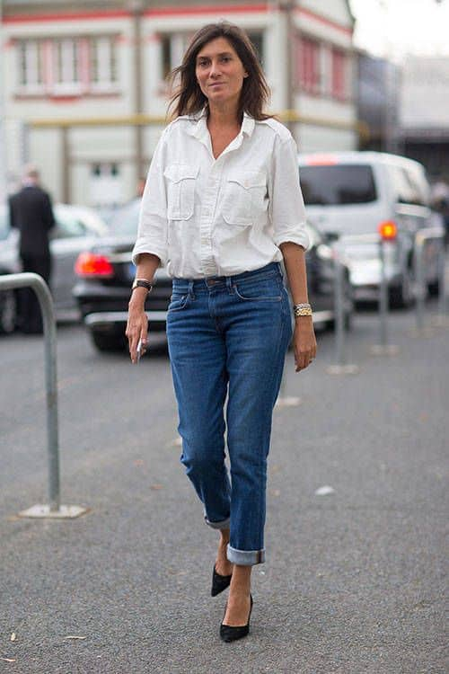 White shirt blue jeans the fashion tag blog for White pants denim shirt