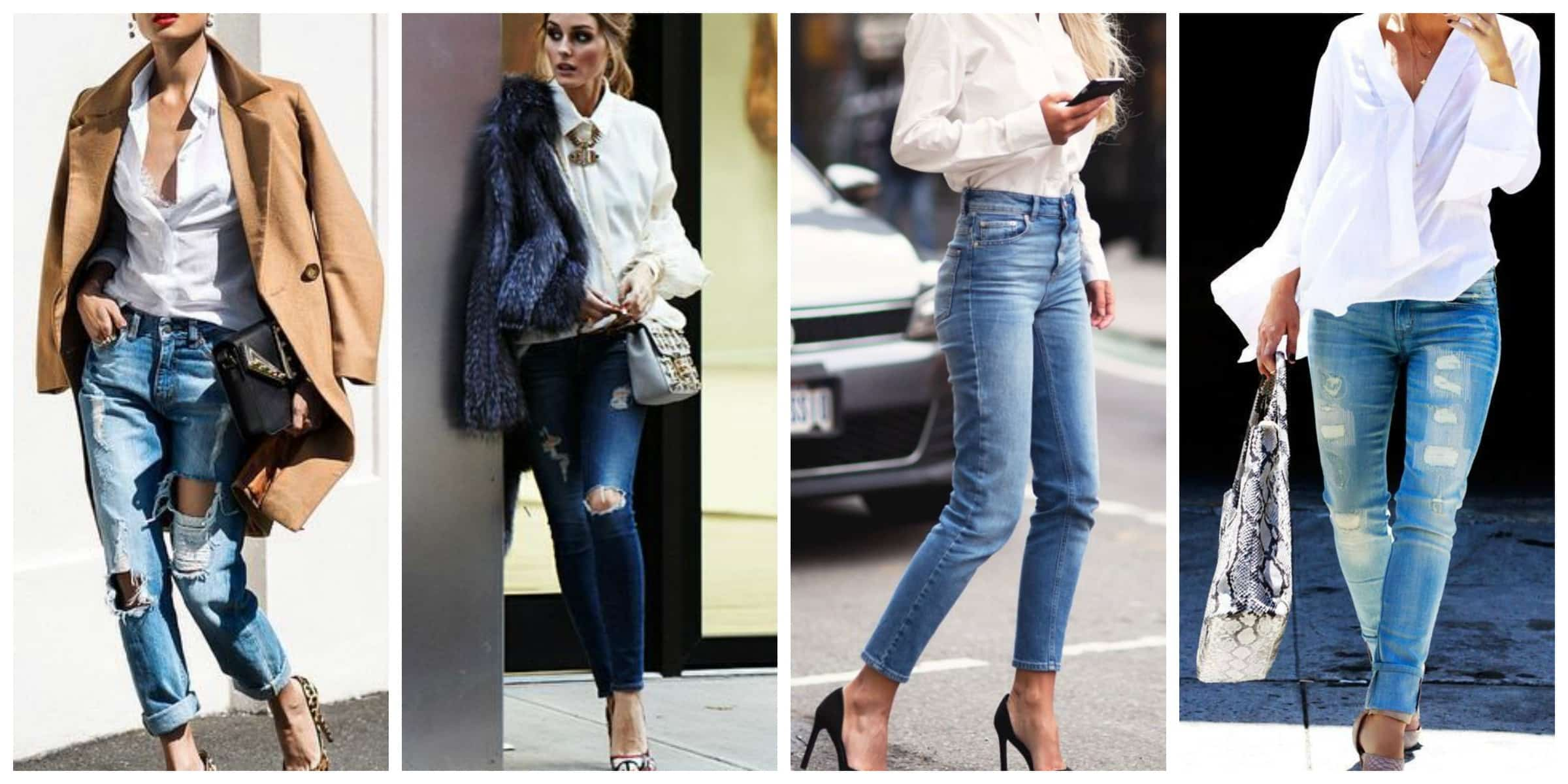 White shirt blue jeans the fashion tag blog for Blue denim shirt for womens