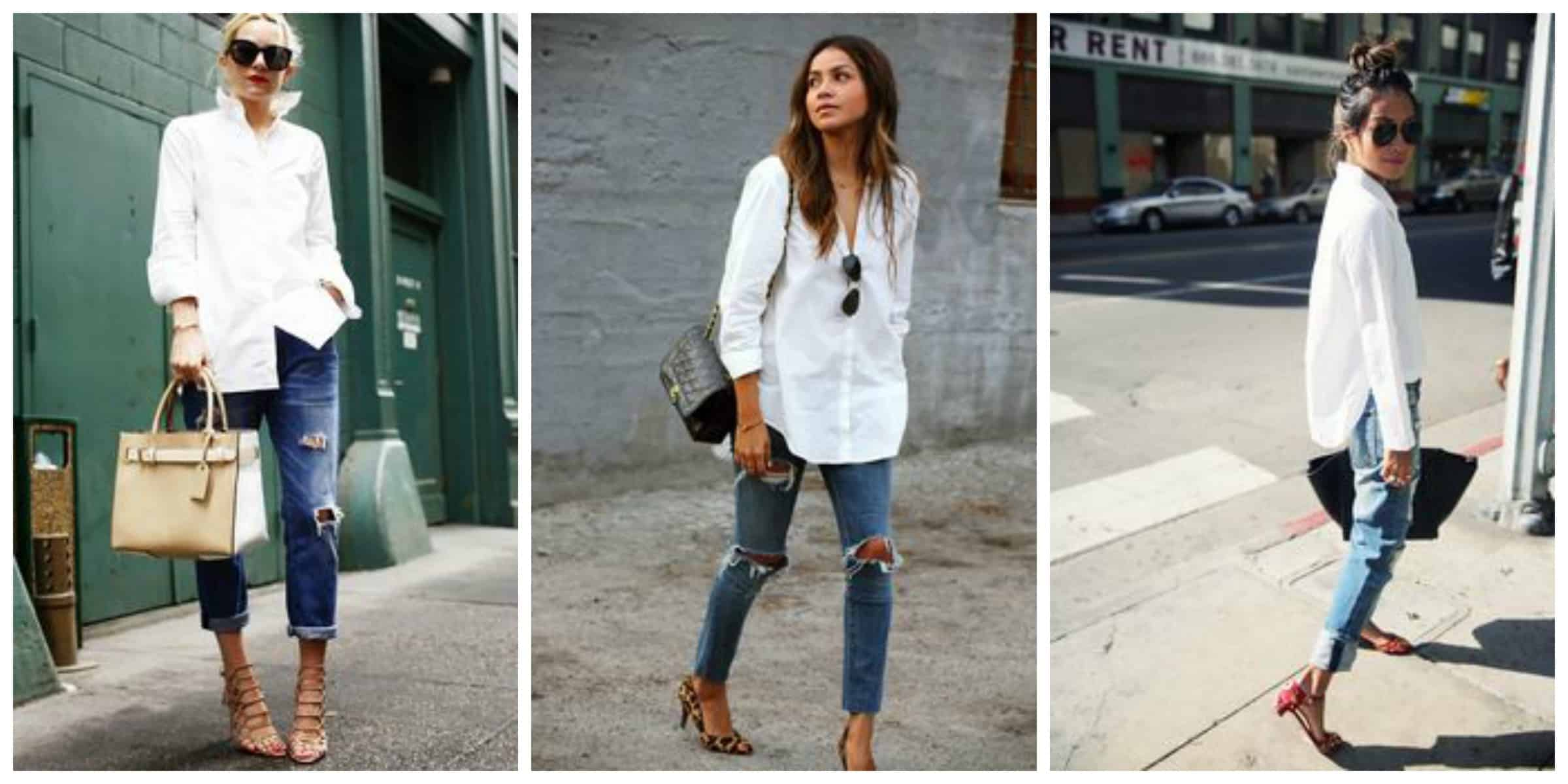 White Shirt &amp Blue Jeans ::: The Fashion Tag Blog