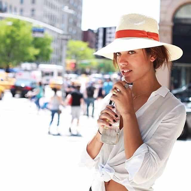 Street Style Summer Hat For Girls