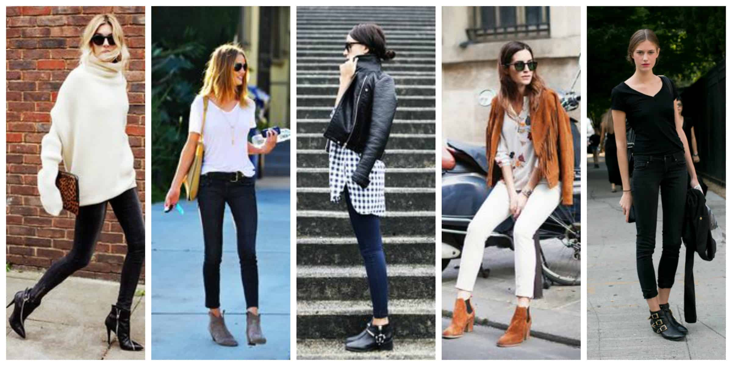 ankle boots 4 ways to wear them the fashion tag blog