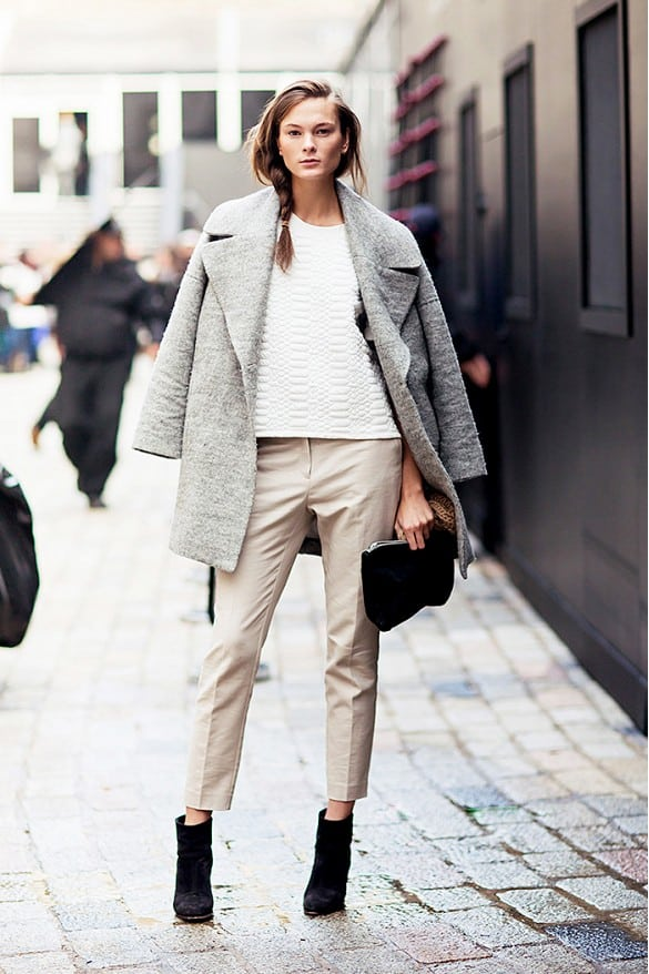 Image result for street style ankle booties