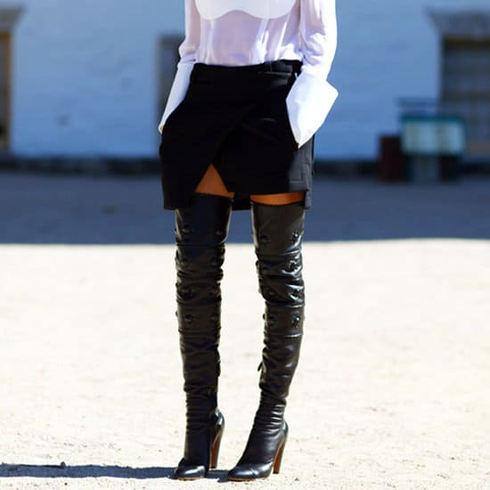 Thigh High Boots How To Wear Them With Dresses