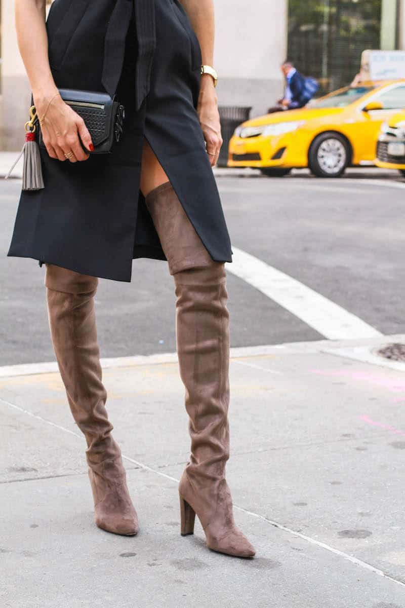 55de96c025171 9 TIPS  How To Wear Thigh-High-Boots With Dresses Or Skirts