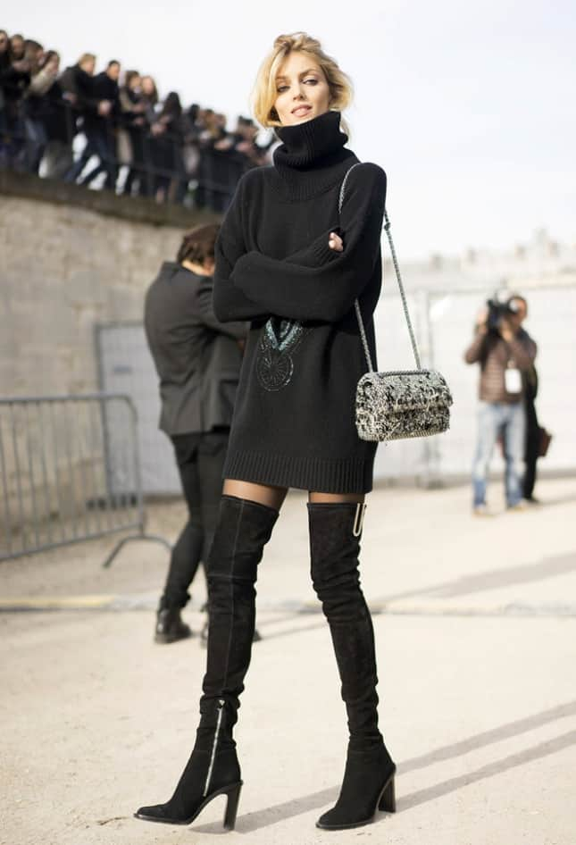 Thigh High Boots 9 Tips On How To Wear Them With Dresses 9 Tips Fashiontag Blog