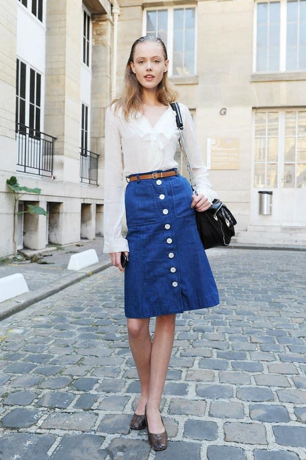 button-down-midi-skirts-trend-11