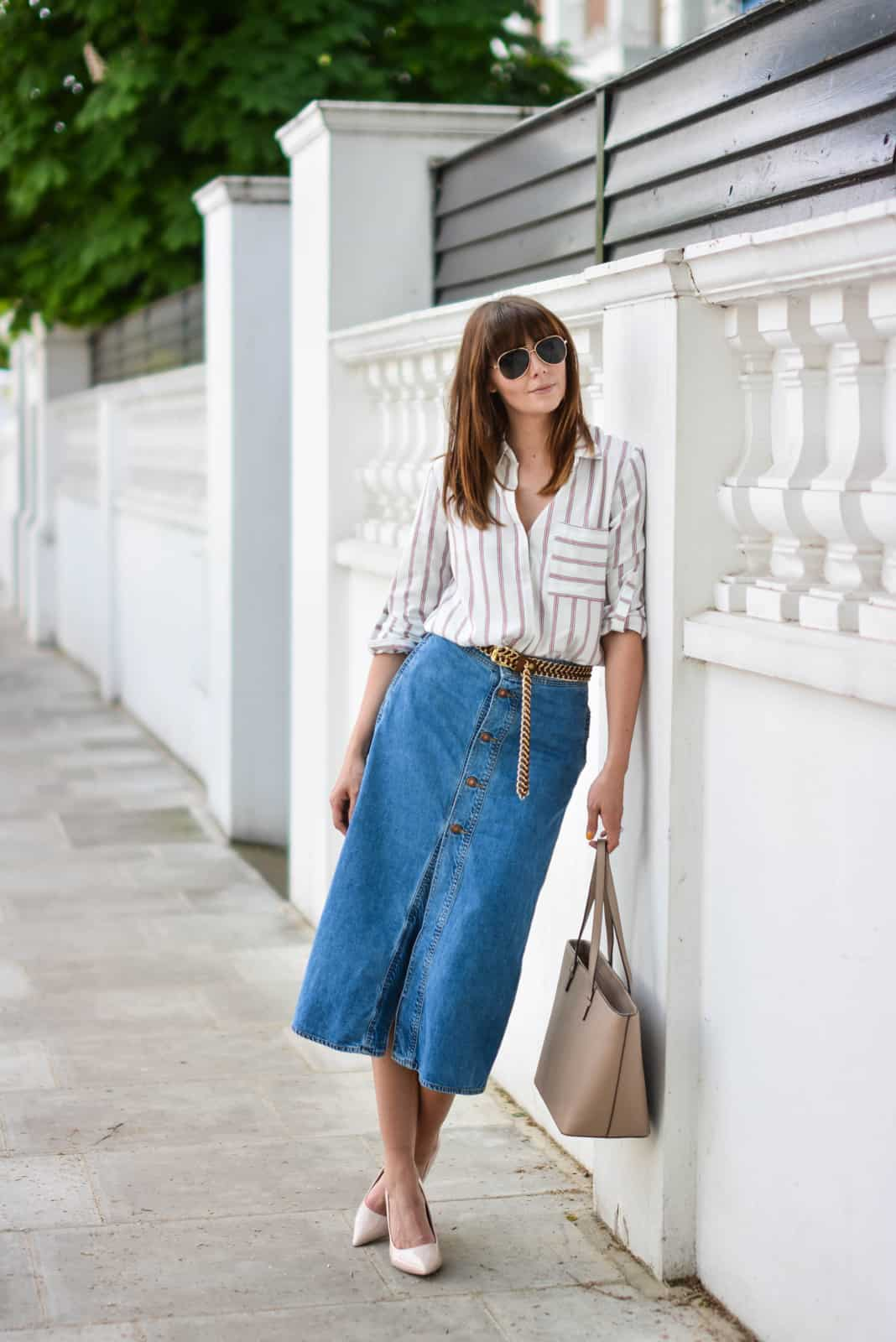 button-down-midi-skirts-trend-15