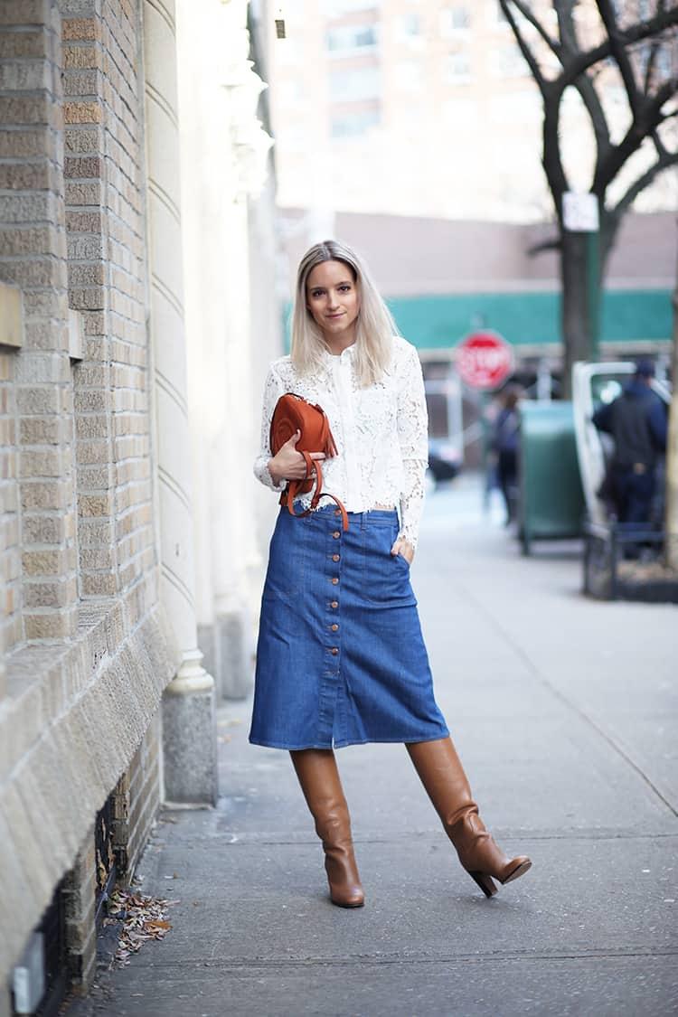button-down-midi-skirts-trend-21
