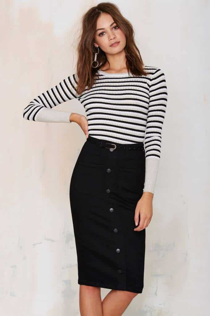 button-down-midi-skirts-trend-5