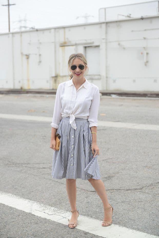 button-down-midi-skirts-trend-9