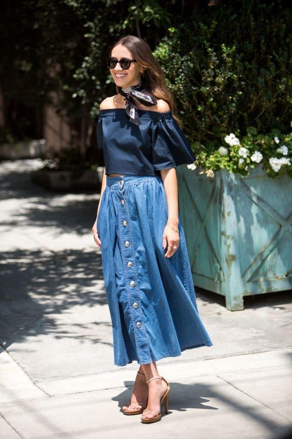 front-button-denim-skirt