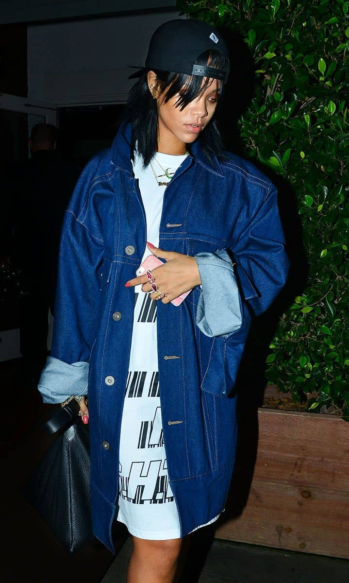 Rihanna Style Baseball Cap 5 The Fashion Tag Blog
