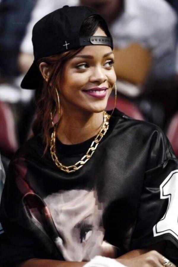 077f2ed0632 How To Wear Baseball Caps Like RIHANNA? – The Fashion Tag Blog