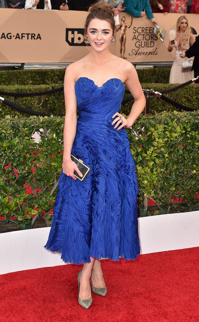 2016-sag-awards-red-carpet-maisie-williams