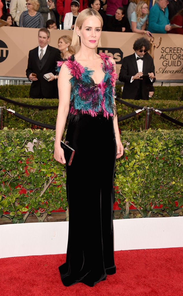 2016-sag-awards-red-carpet-sarah-paulson