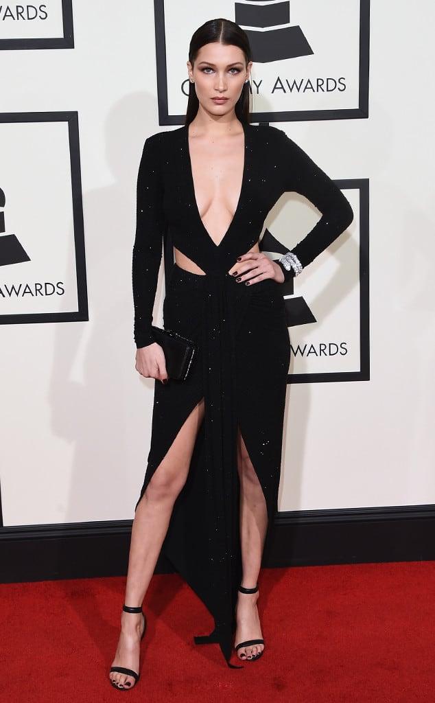 Bella-Hadid-2016-grammys-red-carpet