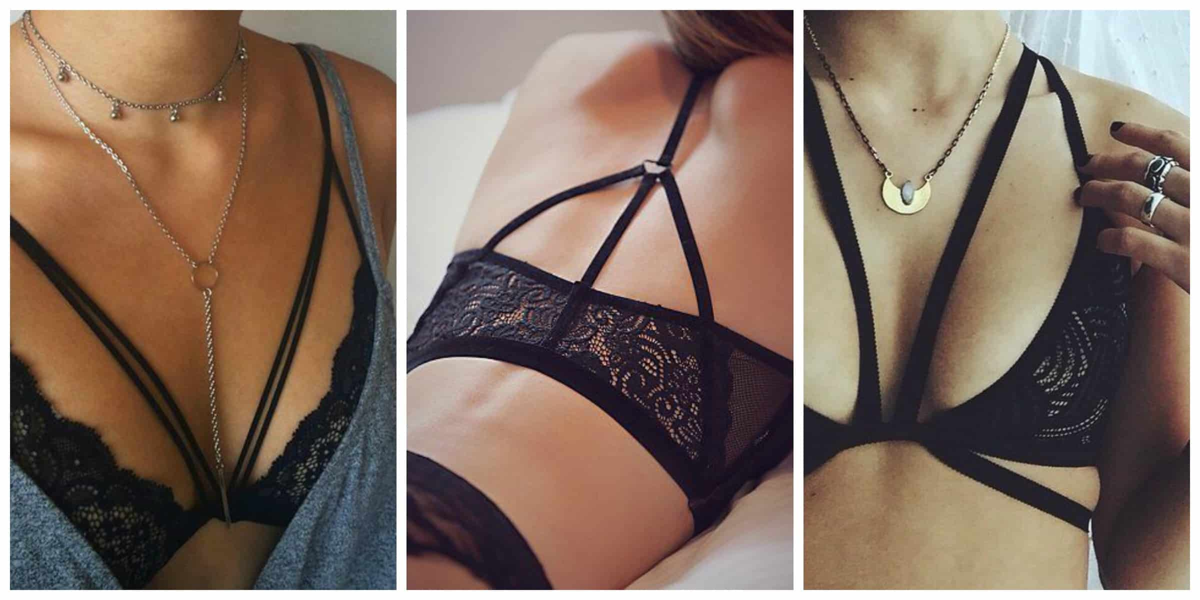 black-strappy-bras