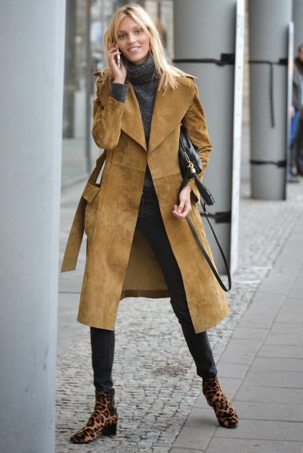 df700f6ab7b TREND Alert  SUEDE Trench Coats – The Fashion Tag Blog