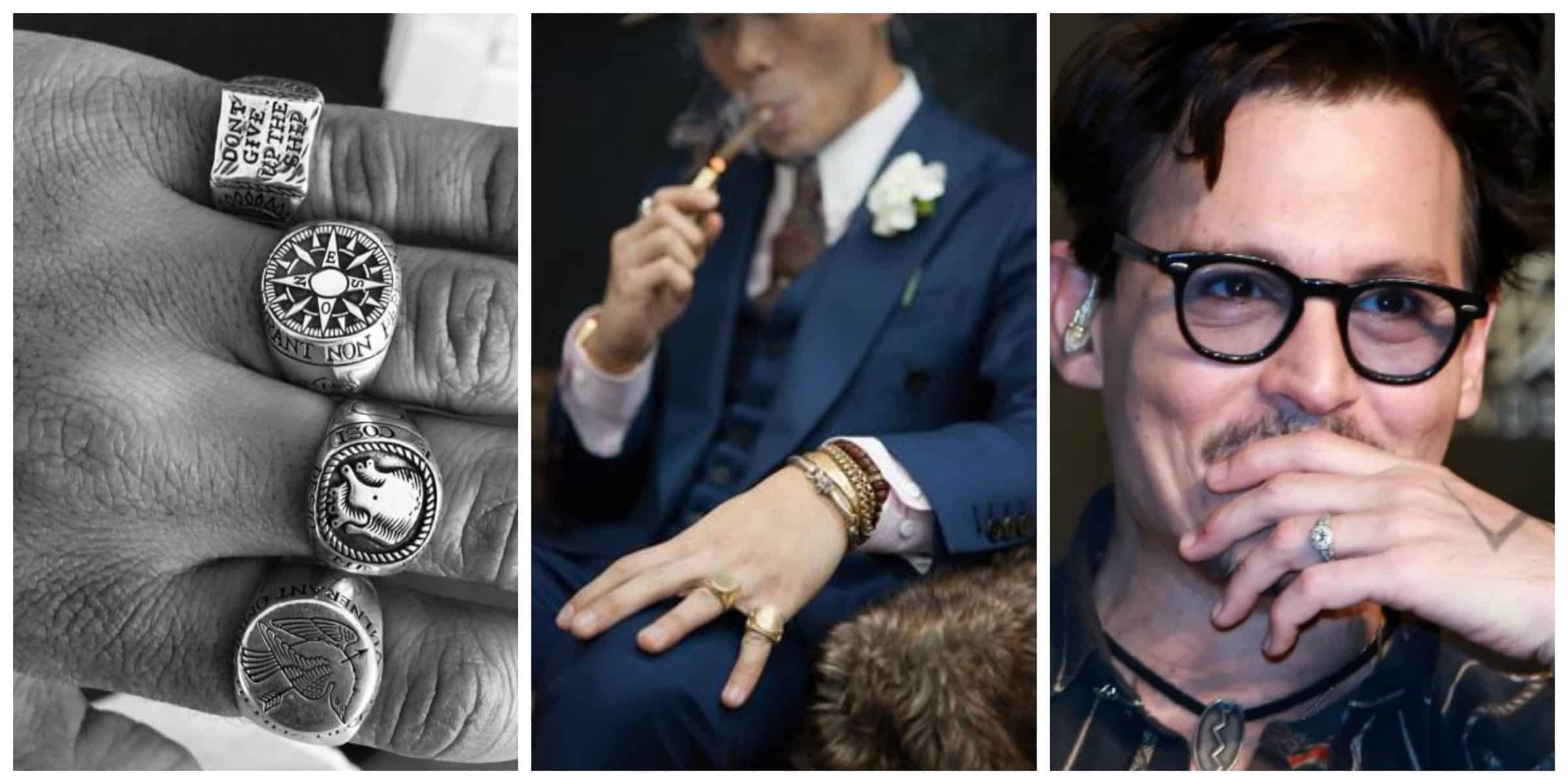 A Variety Of Men S Wedding Bands In Style Today The Fashion Tag Blog