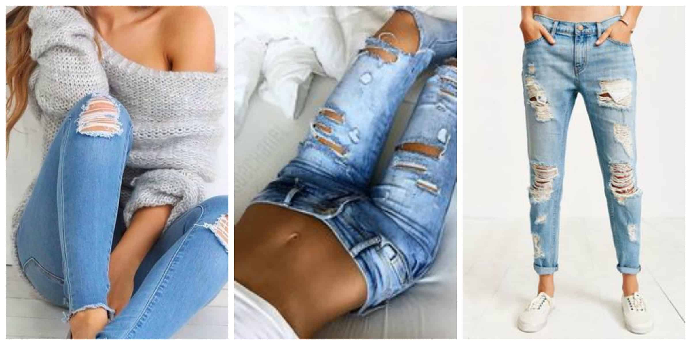 c60c16953d Shop The Best Distressed Women s Jeans – The Fashion Tag Blog