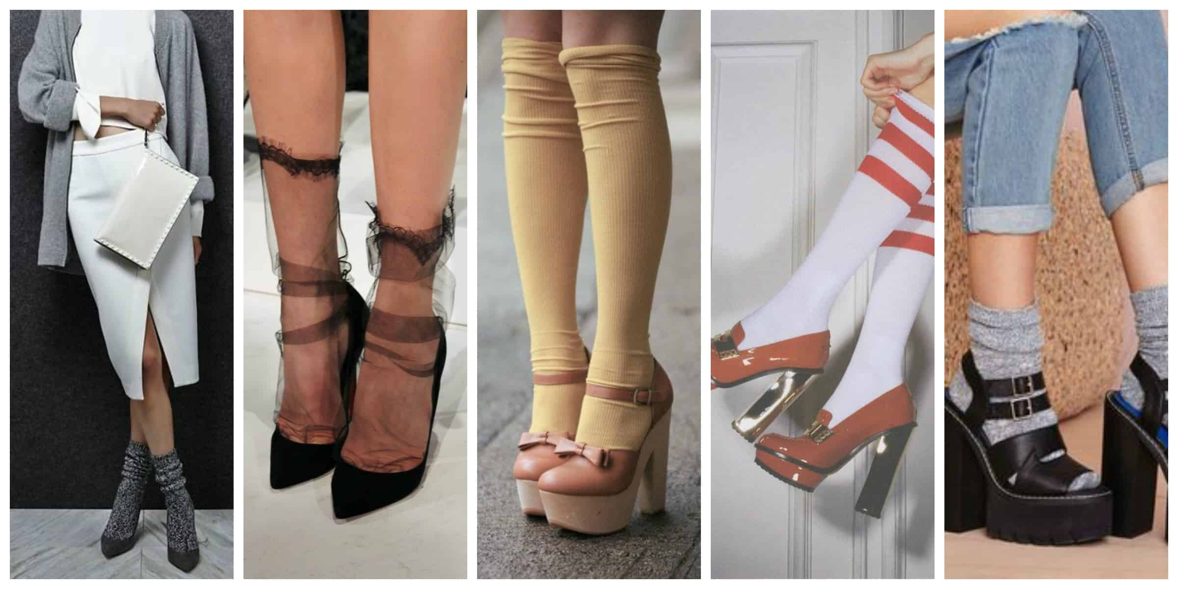 TREND ALERT: Heels & Socks – The Fashion Tag Blog