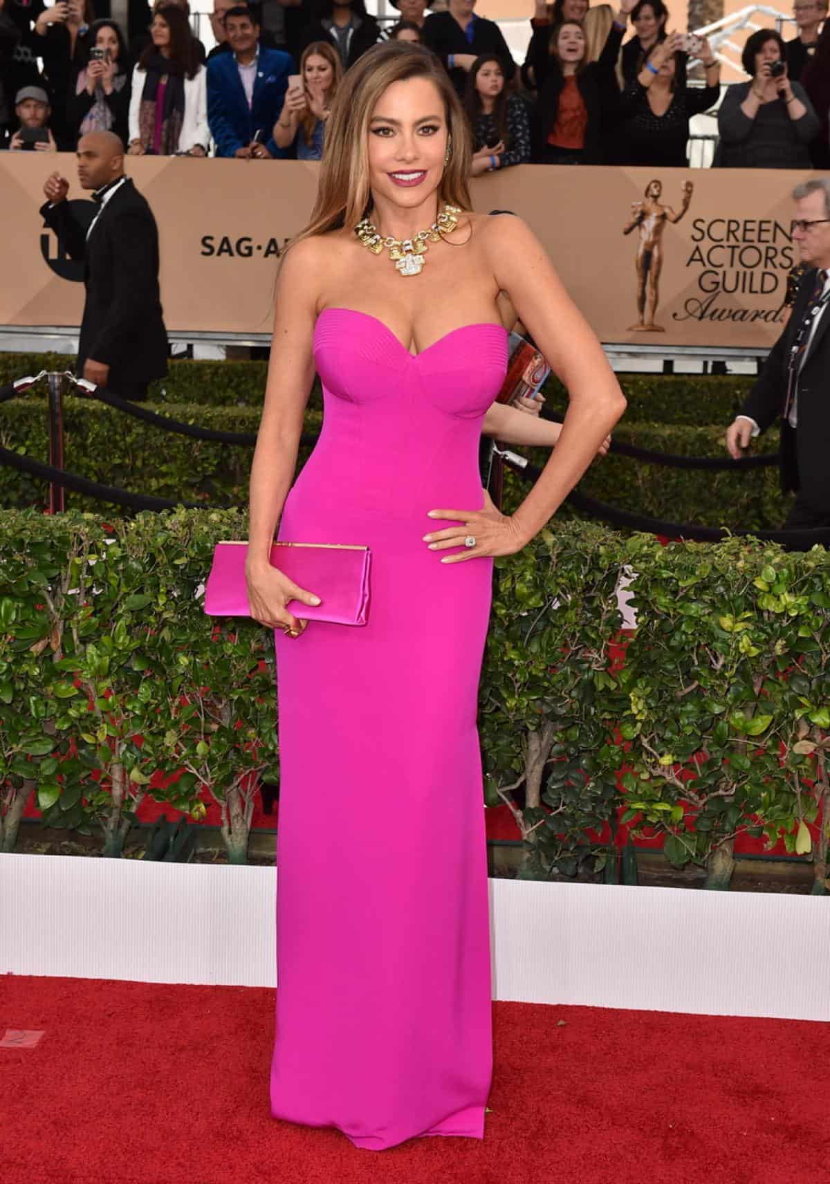 sofia-vergara-2016-sag-awards-red-carpet-
