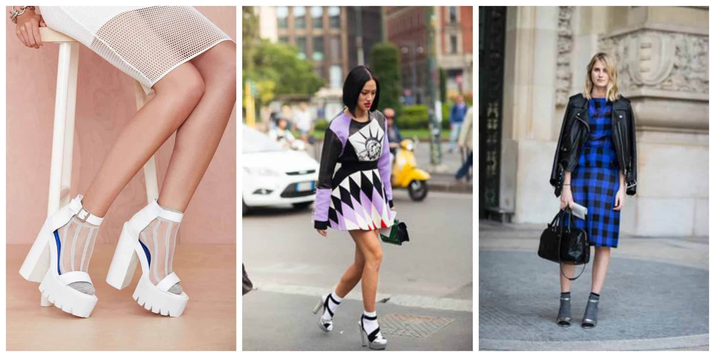 TREND ALERT Heels \u0026 Socks \u2013 The Fashion Tag Blog