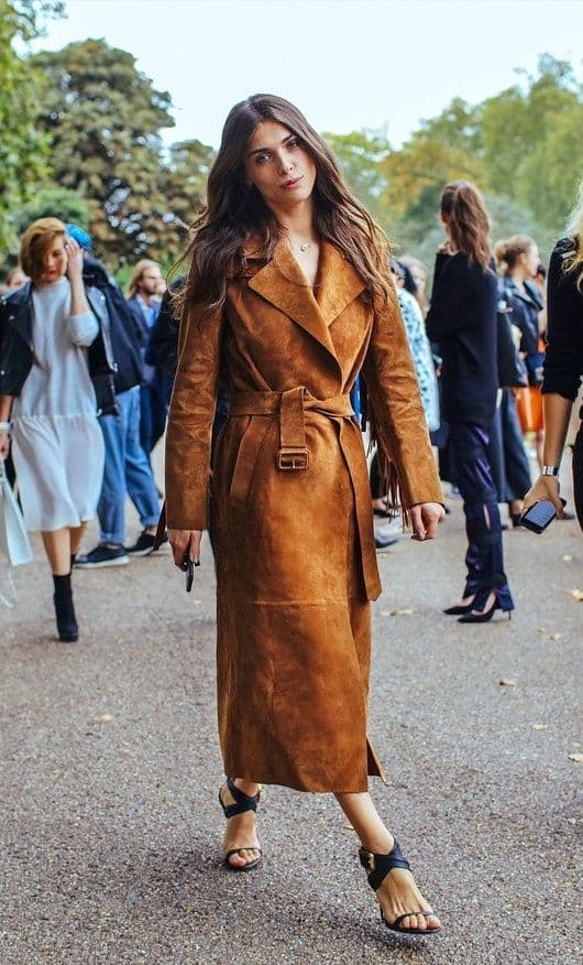 how to purchase hot-selling real select for genuine TREND Alert: SUEDE Trench Coats – The Fashion Tag Blog