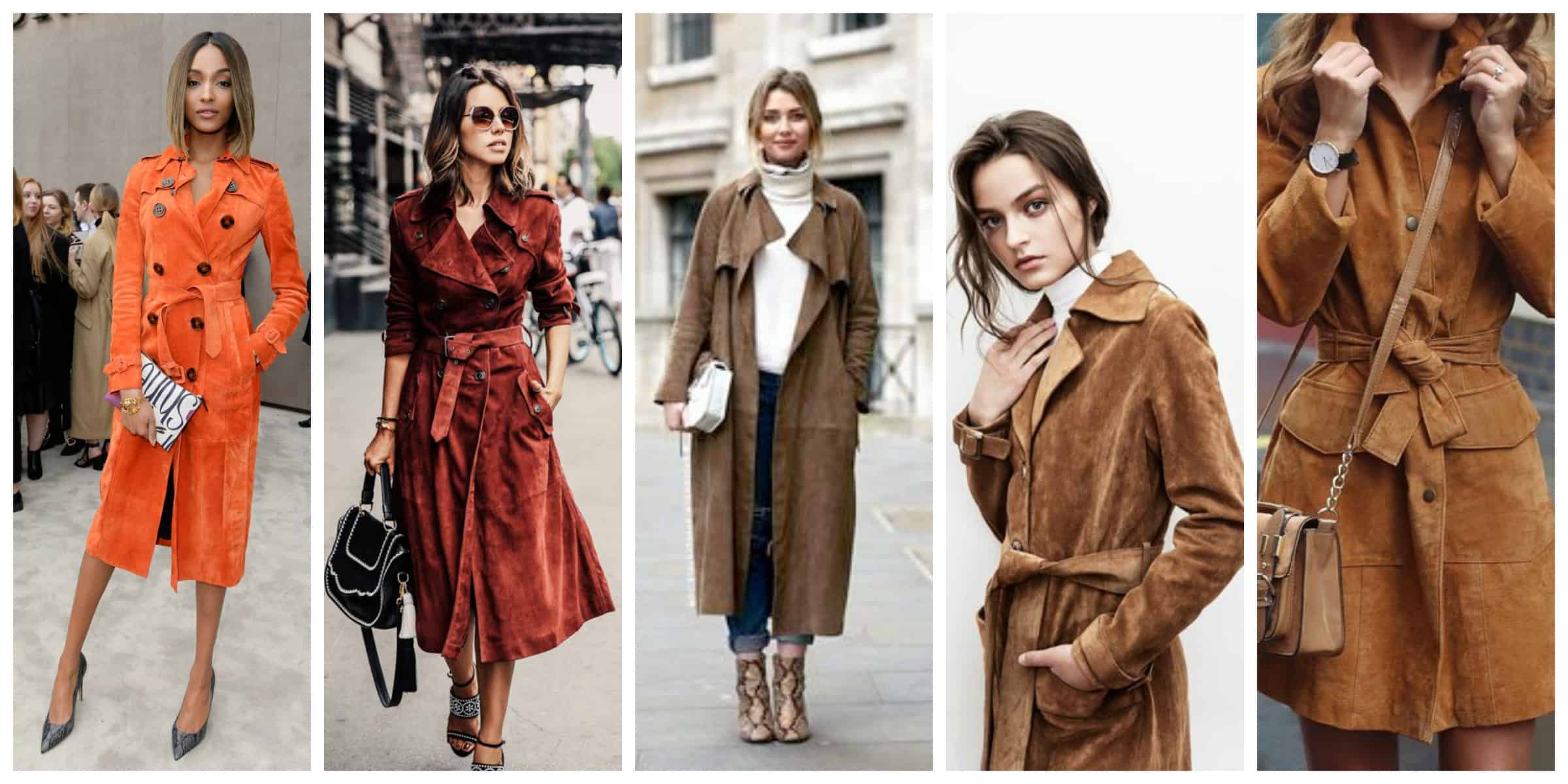 Fashion week Trench Trends: coats for women for woman
