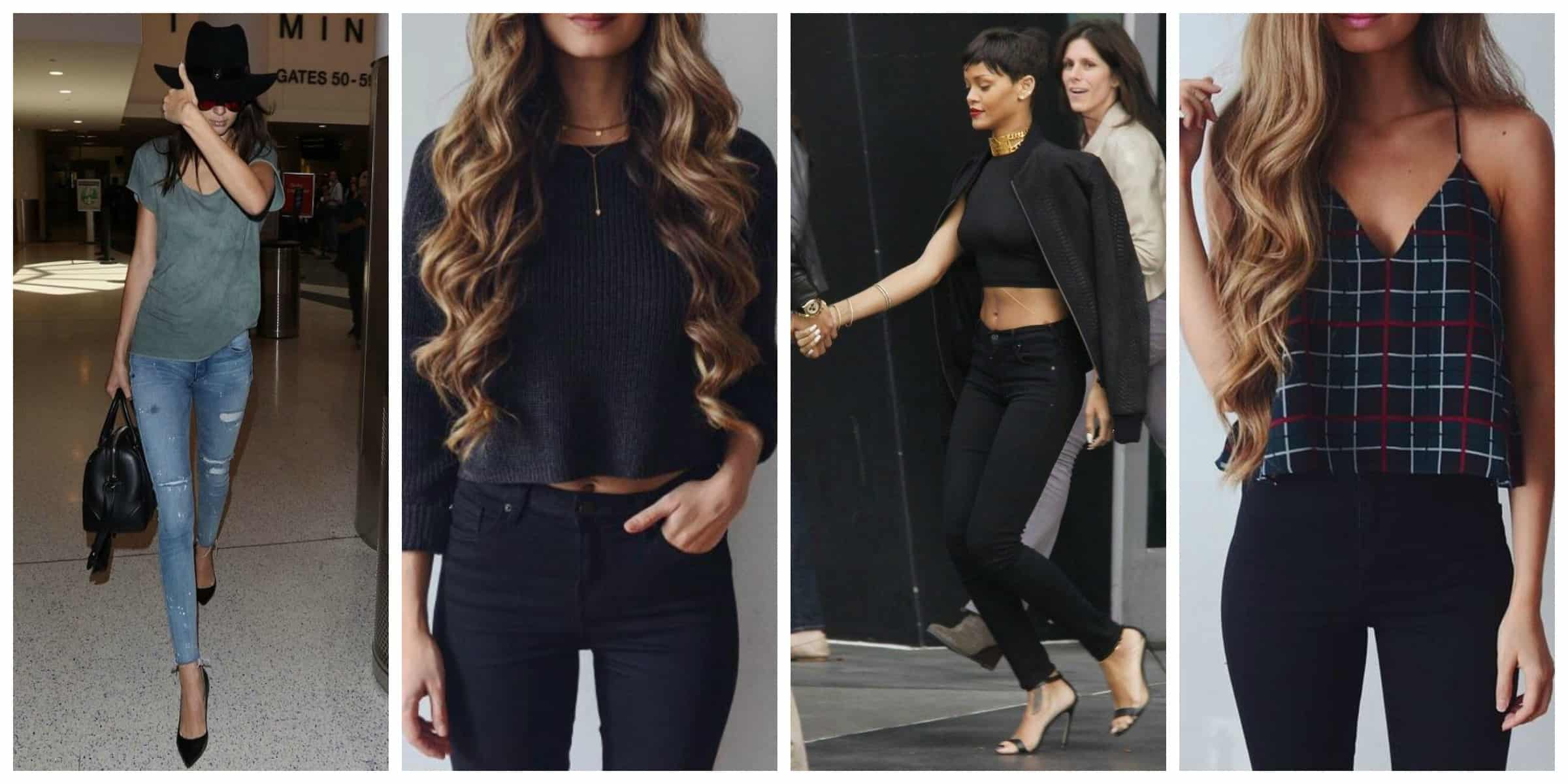 Sexy tops to wear with skinny jeans