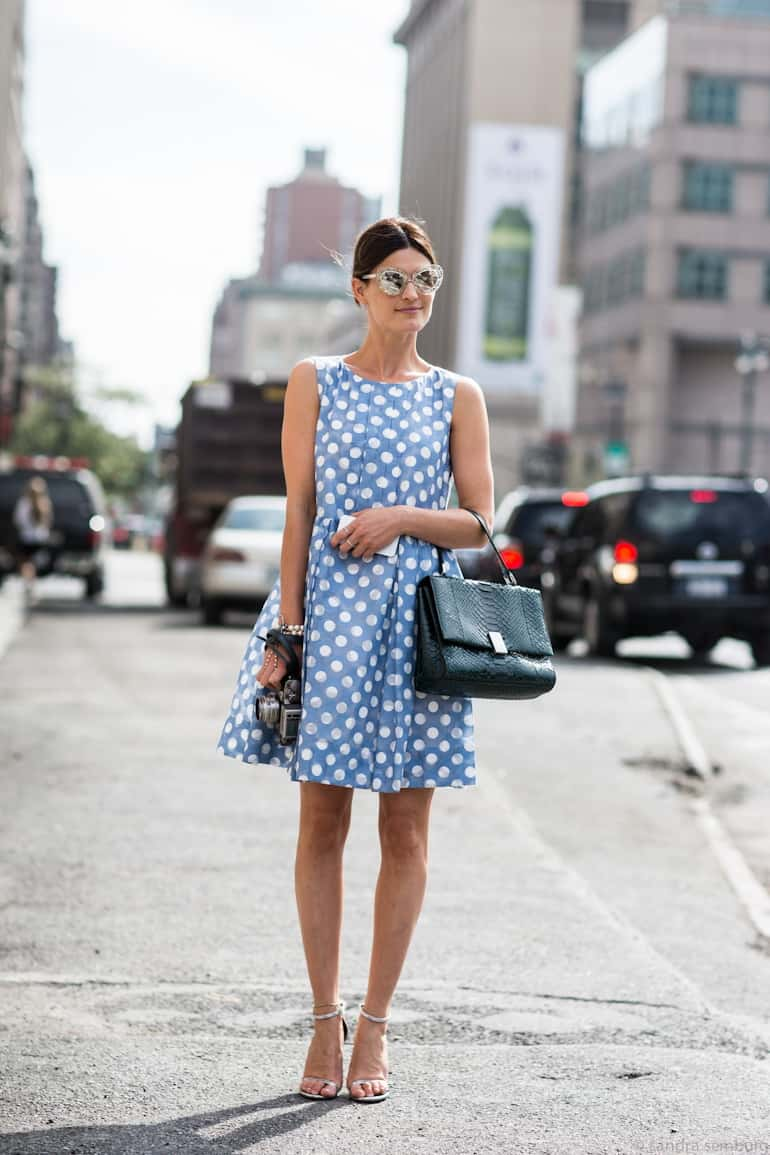 Image result for polka dots trend 2017 sundress
