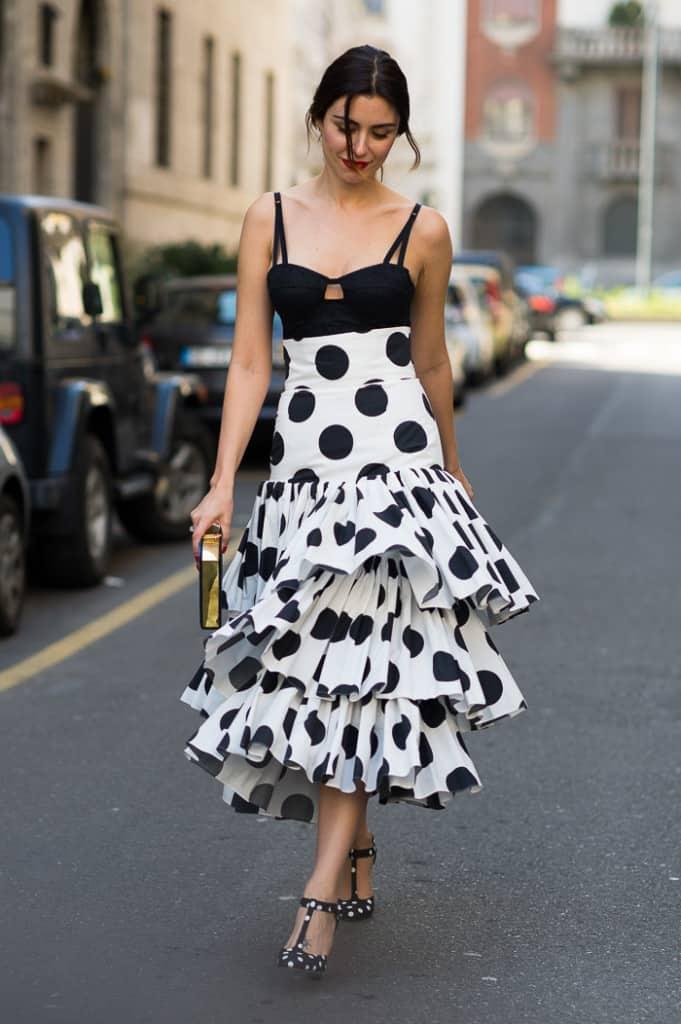 Lise Grendine at Dolce Gabbana FW2015