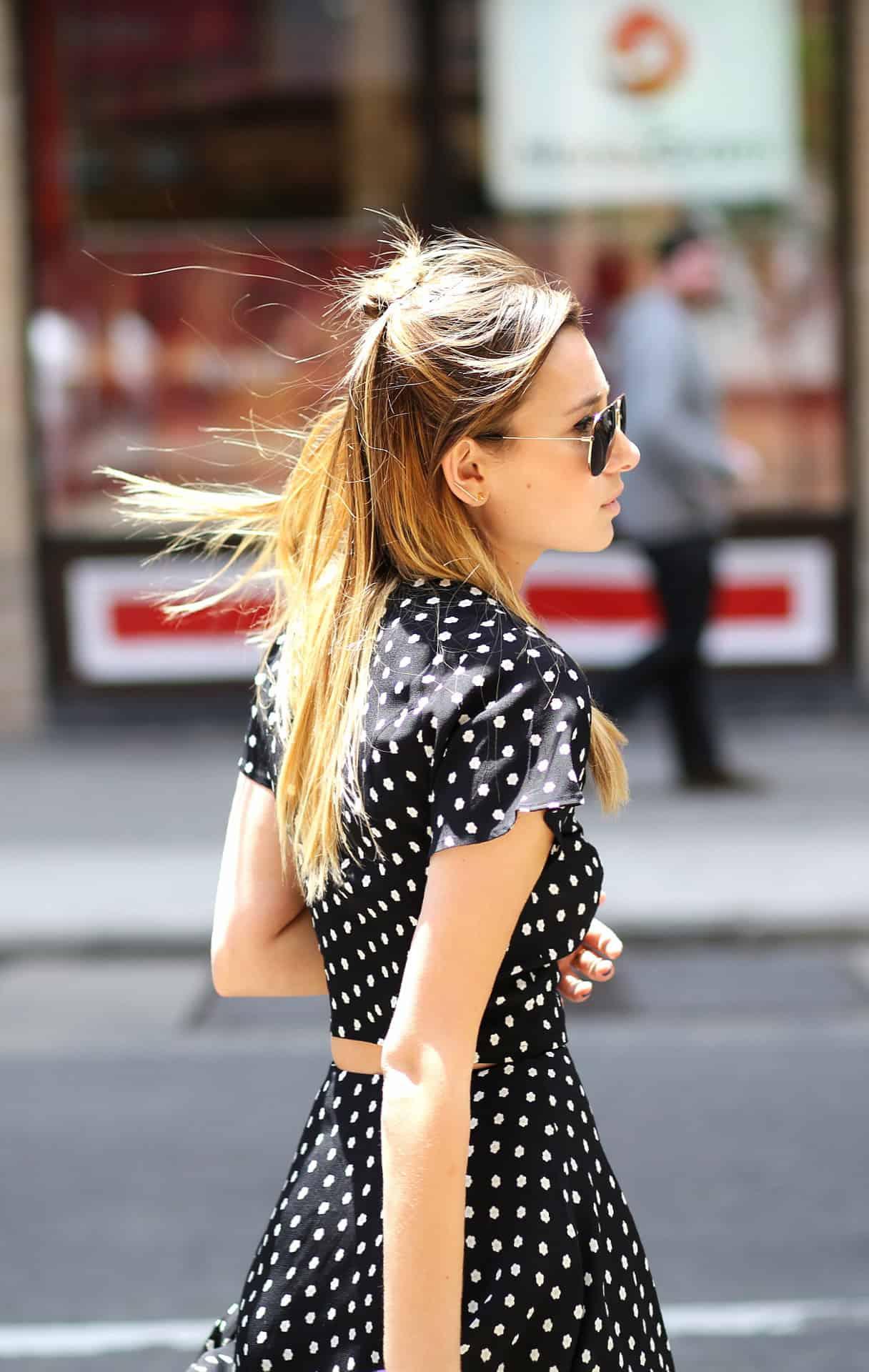 Spring Trend Polka Dots Fashion Tag Blog