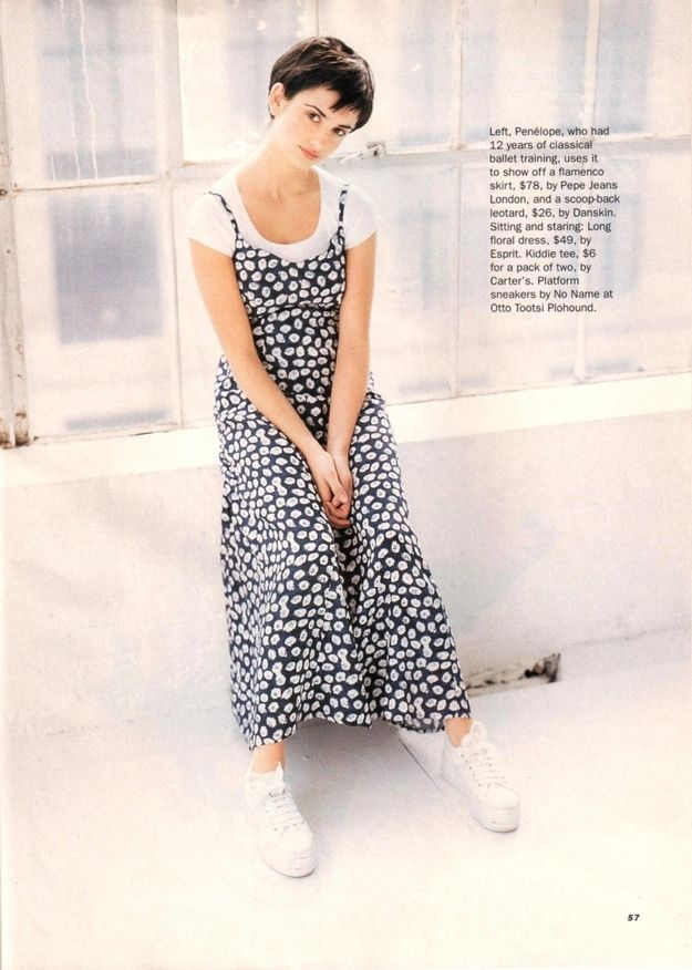 Long dress images 90s