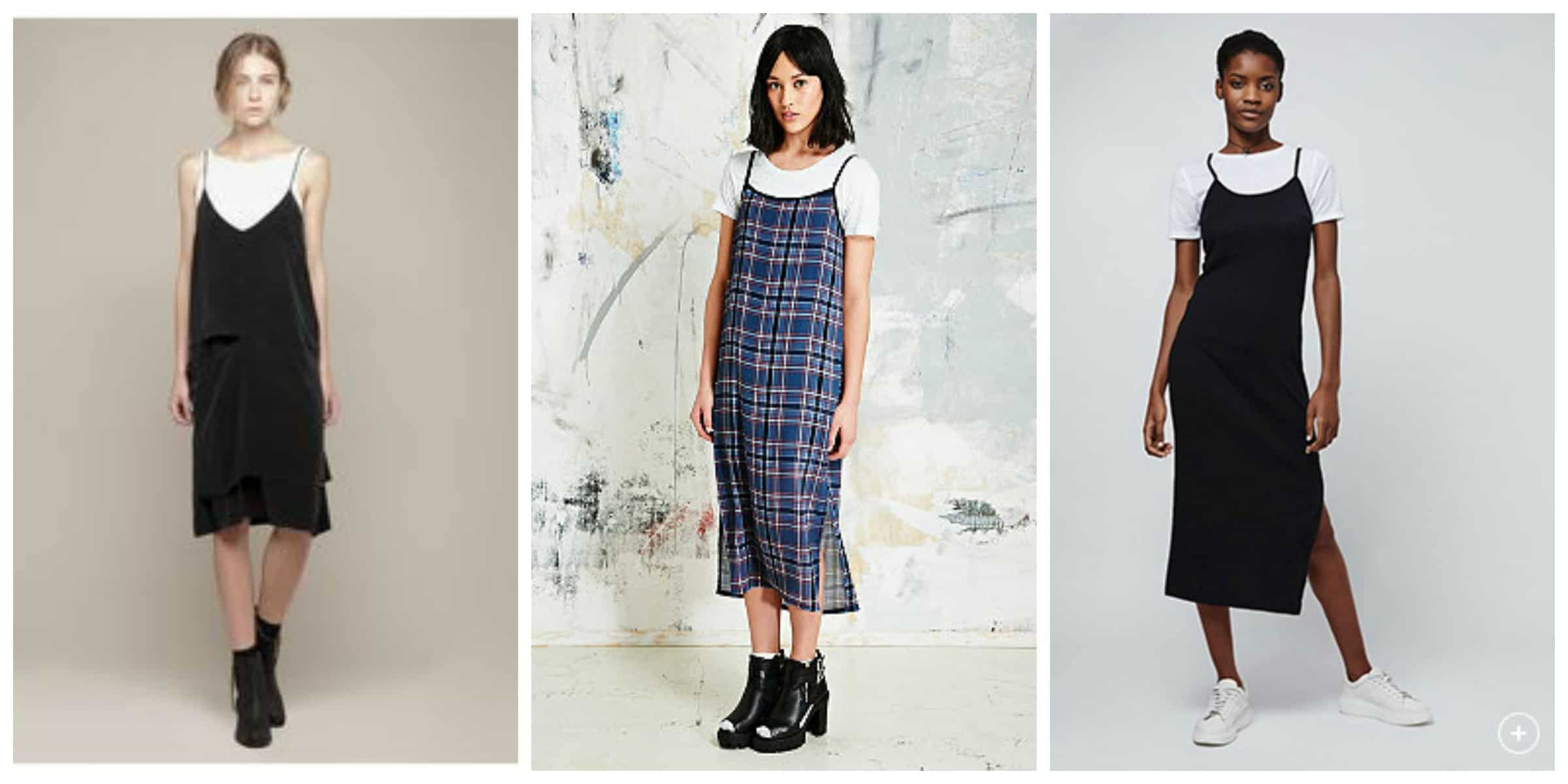 Slip Dresses Over T Shirts This 90s Trend Is Back The Fashion Tag Blog