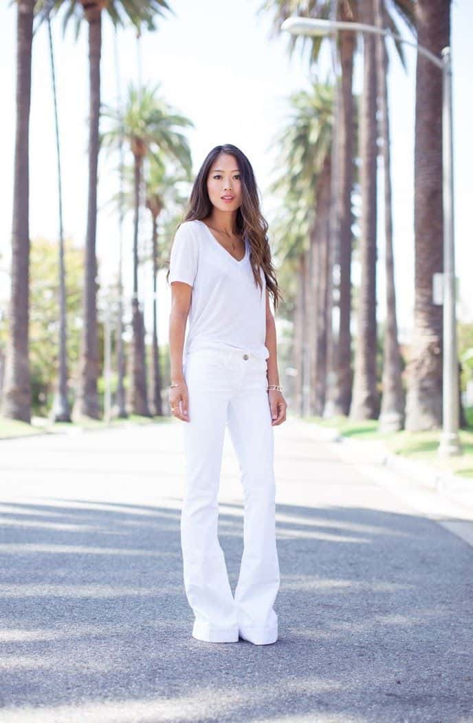 Spring Crush White Denim The Fashion Tag Blog