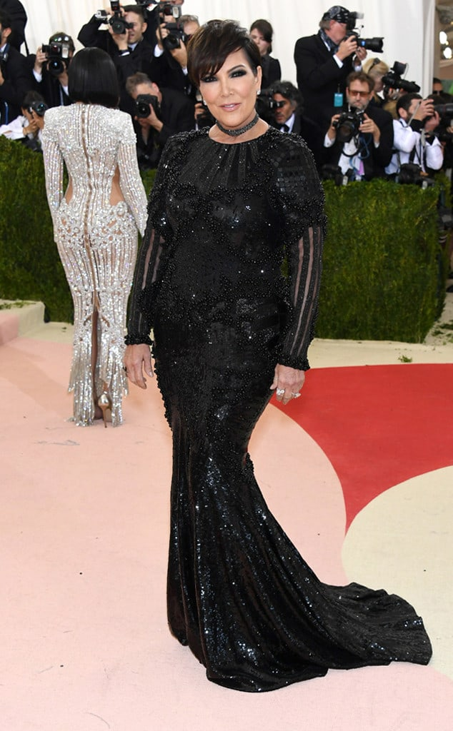 Met Gala 2016 Red Carpet Kris Jenner The Fashion Tag Blog