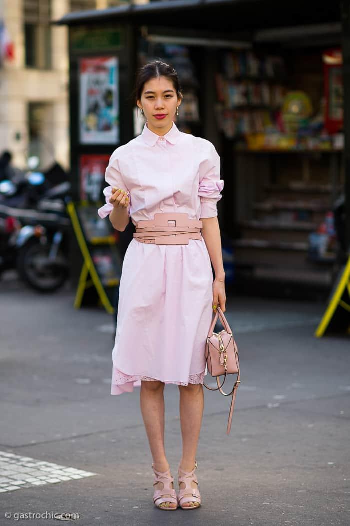 Pretty in Pink, Outside Hermes