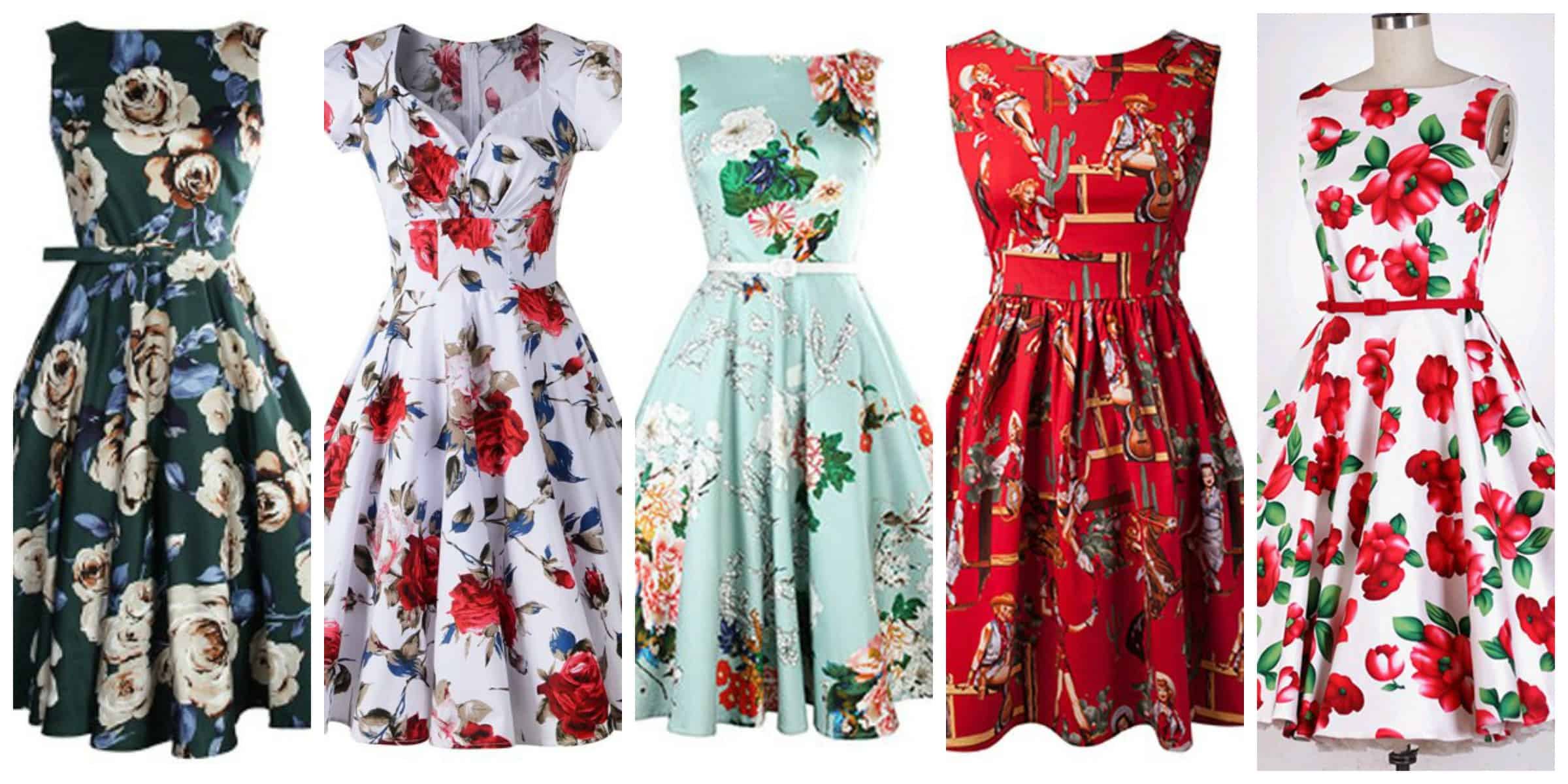 Retro Dresses: 3 Styles To Shop & Rock – The Fashion Tag Blog