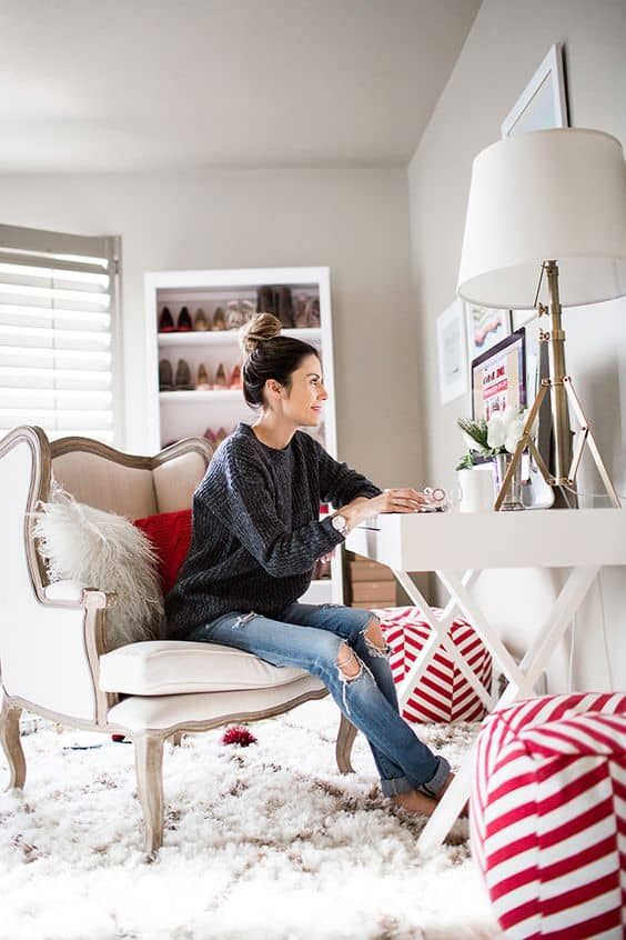 a work from home women entrepreneur s dress code the fashion tag blog. Black Bedroom Furniture Sets. Home Design Ideas