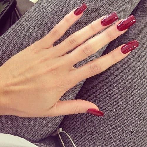 Длинные ногти красивые