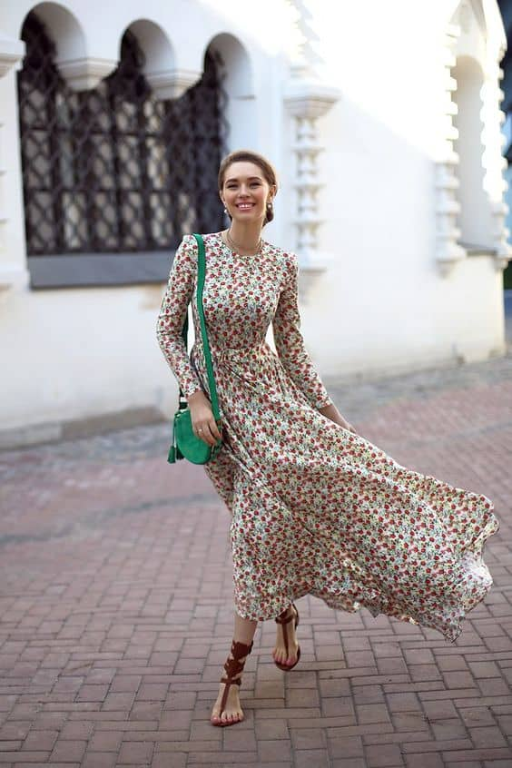 How To Wear A Maxi Dress In 2016 Summer The Fashion Tag Blog