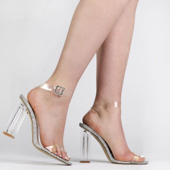 White Platform Shoes Sandals
